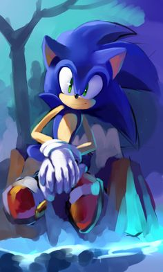 God, Sonic is the most adorable thing ever