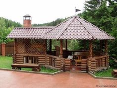 Pergola For Small Patio Backyard Gazebo, Garden Gazebo, Backyard Patio Designs, Pergola Patio, Backyard Landscaping, Pergola Ideas, Outdoor Rooms, Outdoor Living, Garden Sink