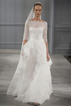 Monique Lhuillier SS 2014 | Fly Away Bride