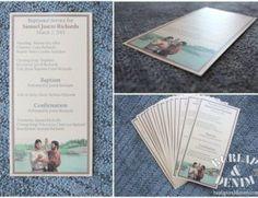 Free Printable Baptism Program