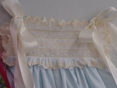 french heirloom sundress tutorial.  My Grandmother used to make Christening gowns with type of stitching.