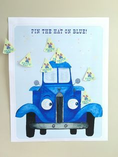 The Little Blue Truck Birthday Party