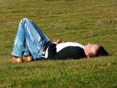 Gesehen im Großen Garten Dresden