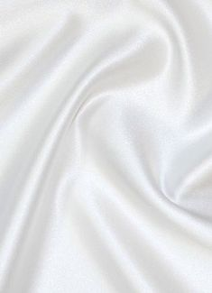White Duchess Satin Fabric - Bridal Fabric by the Yard poly Matte Satin (Peau de Soie) Fabric. The finest quality Peau de Soie Satin available – Made in USA. Perfect for wedding gowns, bridesmaid dresses or formal dresses. Angel Aesthetic, Rainbow Aesthetic, Aesthetic Colors, White Aesthetic, Aesthetic Pictures, Trendy Wallpaper, White Wallpaper, Art Blanc, Bridal Fabric