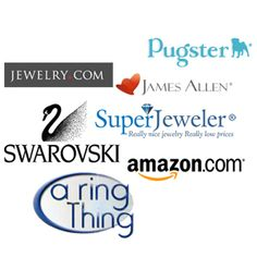 Shop for #jewelry from a variety of jewelers all in one place. #Engagement #rings along with #Swarovski crystals and more at http://buydiamondjewelryonline.com