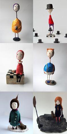papel mache esculturas - Pesquisa Google