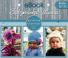★ eBook ★ Babymütze Linna ★ Größe 32-52 ★ von ♥ Meine Herzenswelt ♥ DIY ♥ auf DaWanda.com