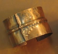 Copper Cuff  Solid copper cuff hand formed, antiqued and hand buffed. $55  #cassandramillardjewelry #copper #handmade