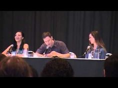 ▶ Dragon*Con 2013: Dollhouse Panel - YouTube with Eliza Dushku, and Tahmoh Penikett & Miracle Laurie.