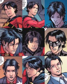 Tim Drake and His Luscious Locks