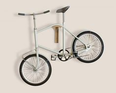 corridor bicycle by david roman lieshout is ideal for apartment dwelling cyclists