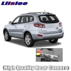 Liislee Car Camera For Hyundai Santa Fe 2006~2012 High Quality Rear View Back Up Camera For Fans Use | RCA