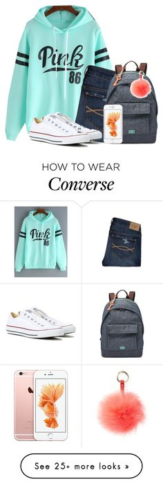 """Bring on s new week"" by flroasburn on Polyvore featuring Abercrombie & Fitch, Converse, FOSSIL and RAJ"