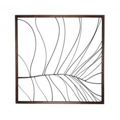 Palm Leaf Metal Artwork