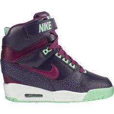 ae4e0b43087 Nike Air Revolution Sky Hi Women s Shoe found on Polyvore Baskets