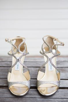 Sparkly shoes | Photography: Ryon:Lockhart Photography - ryonlockhart.com  Read More: http://www.stylemepretty.com/california-weddings/2015/05/04/rustic-glamorous-mission-ranch-wedding/