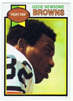 Ozzie Newsome was the 23rd pick in the 1978 NFL Draft for the Cleveland Browns.He was named the Browns Offensive Player of the Year his rookie year, the first time in 25 years that a rookie had received that honor.