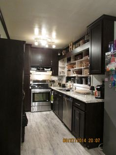 Cabinet Refacing By Home Depot Interiors. Half The Cost Of Custom Cabinets,  But Just