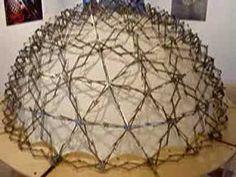 ポンピドーセンターのための伸縮する繊維ドーム パリ・フランス(1997年) Living Form 生きている形 チャック・ホバーマン展 ポーラ ミュージアム アネックス