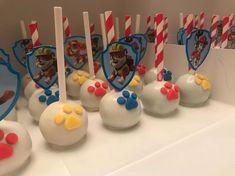 Torta Paw Patrol, Paw Patrol Cupcakes, Paw Patrol Cake Pop, 3rd Birthday Parties, Birthday Cupcakes, 2nd Birthday, Paw Patrol Birthday Theme, Paw Patrol Party, Paw Patrol Stickers