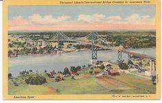 Thousand Islands International Bridge crossing St. Lawrence River