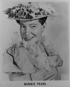 Minnie Pearl Visit Tennessee, Pearl Love, Bluegrass Music, 1 J, Minne, Paint Ideas, Country Music, Comedians, Beyonce