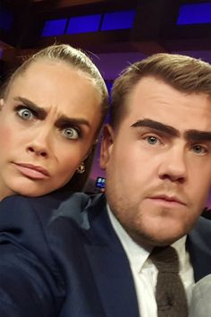 """""""I've hooked up with hotter girls than both of you combined"""" - watch Cara Delevingne take on James Corden and Dave Franco on The Late Late Show"""