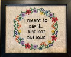 A personal favorite from my Etsy shop https://www.etsy.com/listing/505323328/subversive-cross-stitch-patternfloral