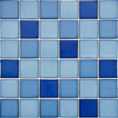Create a chic backsplash or stylish accent wall with this lovely glazed mosaic tile, the perfect finishing touch for your kitchen or master bath.