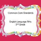This freebie has all of the 2nd grade ELA standards in one place for easy access and planning. 2nd Grade Ela, 2nd Grade Classroom, Common Core Ela, Common Core Standards, Classroom Organization, Classroom Ideas, Easy Access, Binder, Free Printables