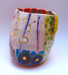 Recent pot, September 2012 Linda Styles.