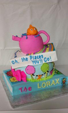 Dr Seuss Baby Shower Ideas | Dr. Seuss baby shower cake