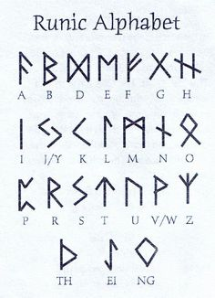 Viking Symbols of the germanic peoples norse speaking scandinavian the vikings Alphabet Code, Alphabet Symbols, Nordic Alphabet, Glyphs Symbols, Rune Symbols, Symbols Of Love, Fun Fonts Alphabet, Latin Symbols, Tattoo Alphabet