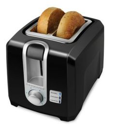 Black  Decker  2-Slice Toaster T2569B  - Online Only