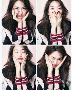 Shin Min Ah - Cosmopolitan Korea Magazine March Issue '16