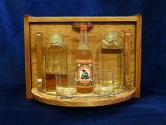 The Secret Bar  a bookcase sized cabinet that by JohnsonArtisan, $1200.00