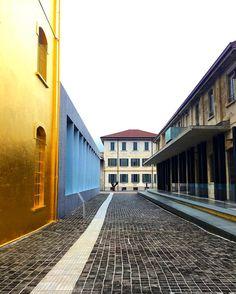 Fondazione Prada  #arte #museo #fondazionePrada #rivalutazione #ristrutturazione…
