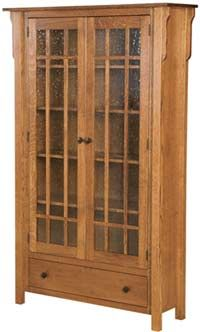 33% OFF Amish Furniture - Hand Crafted Shaker and Mission Furniture Online Outlet Store: Centennial Bookcase: Oak