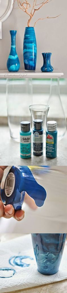 Painted glass Diy