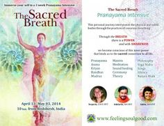 Focus on the Sacred breath, raising ones personal vibration, tuning into the subtle energies while consciously connecting with the elements and having a guided practice of Pranayama, and yoga Asana  for 3 wks.This intensive is for those who want to go deeper within into as the focus is into the subtle bodies of the Pancha koshas, the Prana vayus, Chakras that connect us with ..