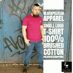 Blackpelican Apparel Small logo T-shirt 100% brushed cotton #blackpelicanapparel #fashionblogger #streetstyle #streetwear #mensfashion #menstyle