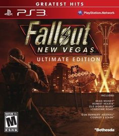 Fallout New Vegas Ultimate Edition  Playstation 3 by Bethesda * For more information, visit image link.
