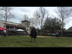 Caber Toss from St. Augustine Highland Games - YouTube