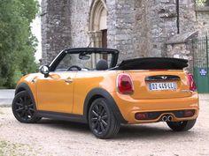 Volcanic Orange Mini Cooper S Cabrio