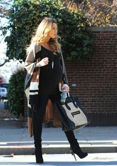 ♥Blake Lively Baby Bump style