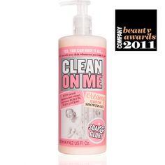 Soap and Glory. Mmmm.