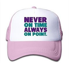 PinkKid s Never On Time Always On Point Snapback Cap Hat 38a2ce715