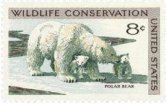 1971 8c Wildlife Conservation/Polar Bear