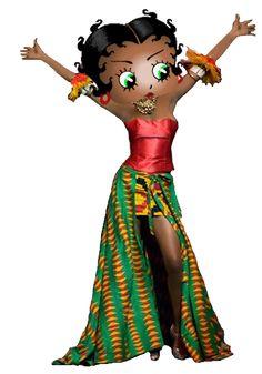 Betty Boop Ghana