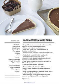 Carton Recette n°77 Recipe Cards, Pudding, Desserts, Food, Chocolates, Recipes, Deserts, Custard Pudding, Puddings